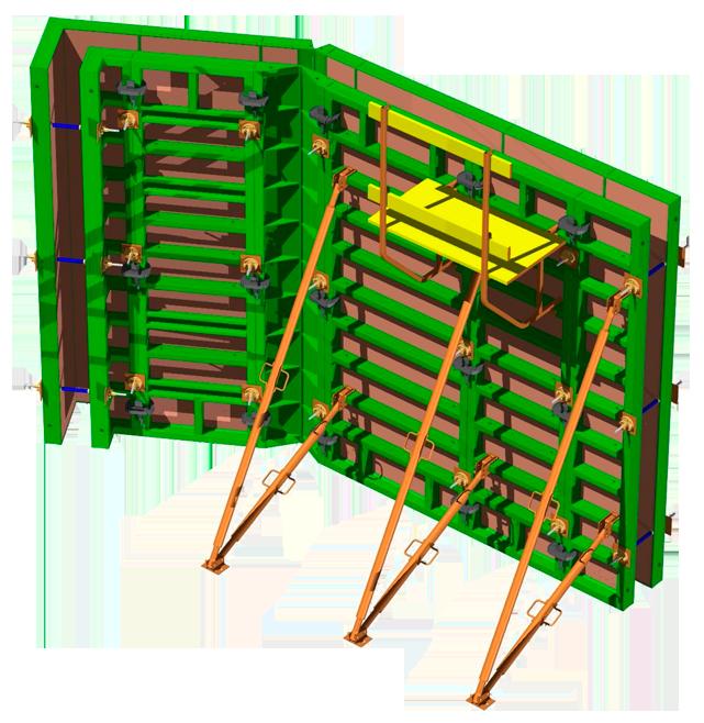 Щитовая опалубка во владивостоке